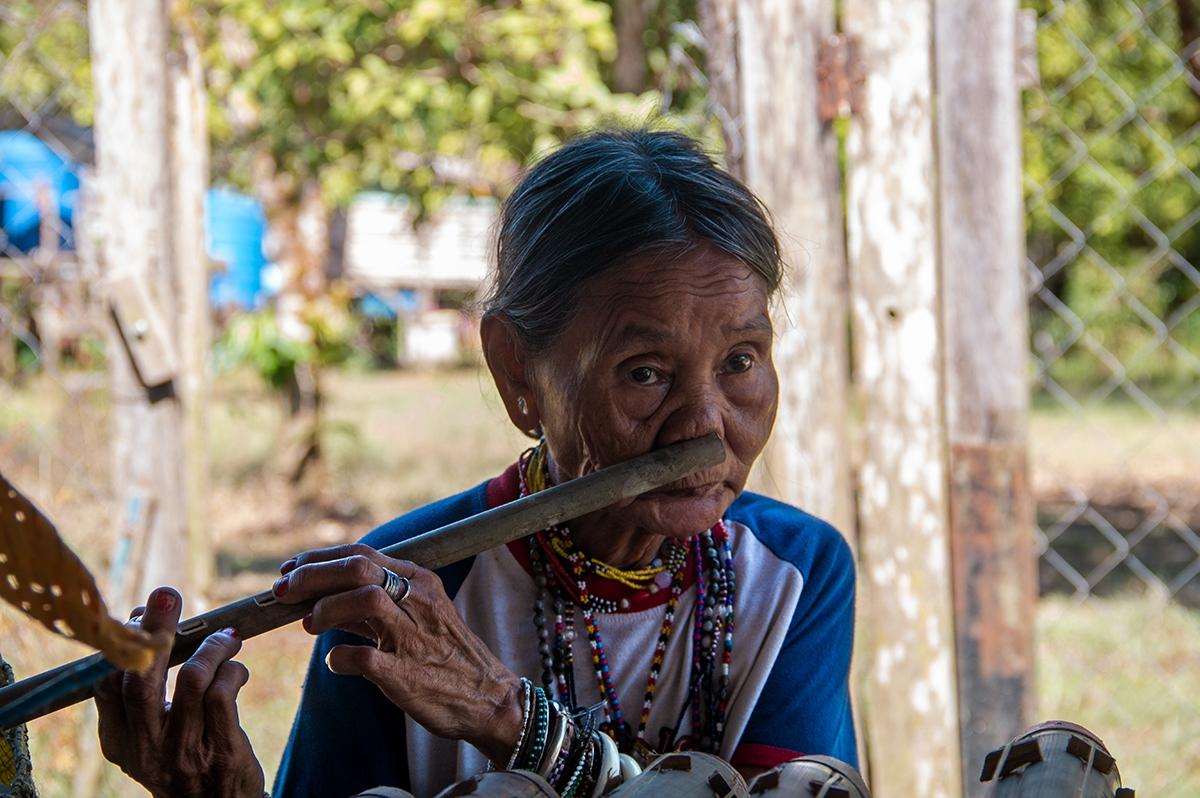 Indonesian woman on Borneo