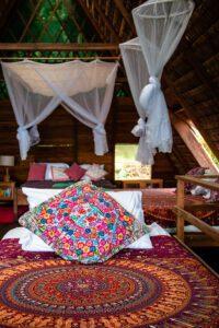 Finca Exotica hotel room in Costa Rica