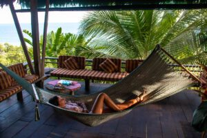 Hammock at Finca Exotica Costa Rica hotel