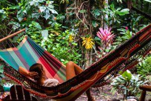 Hammock at Congo Bongo hotel in Costa Rica