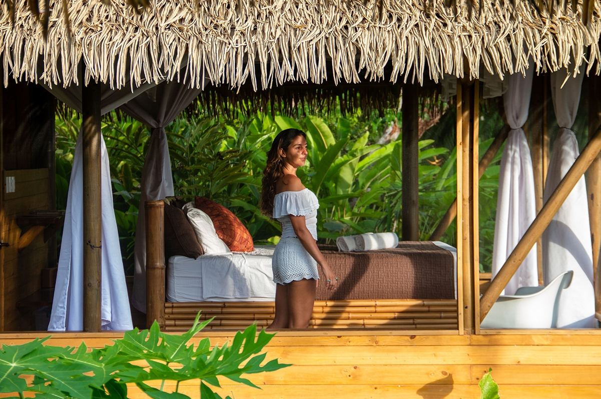 Hotel room at Sola Vista Eco Lodge Costa Rica