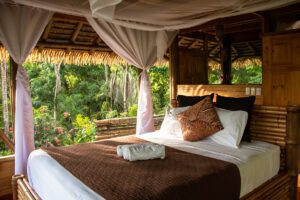 Room view at Sola Vista Eco Lodge Costa Rica