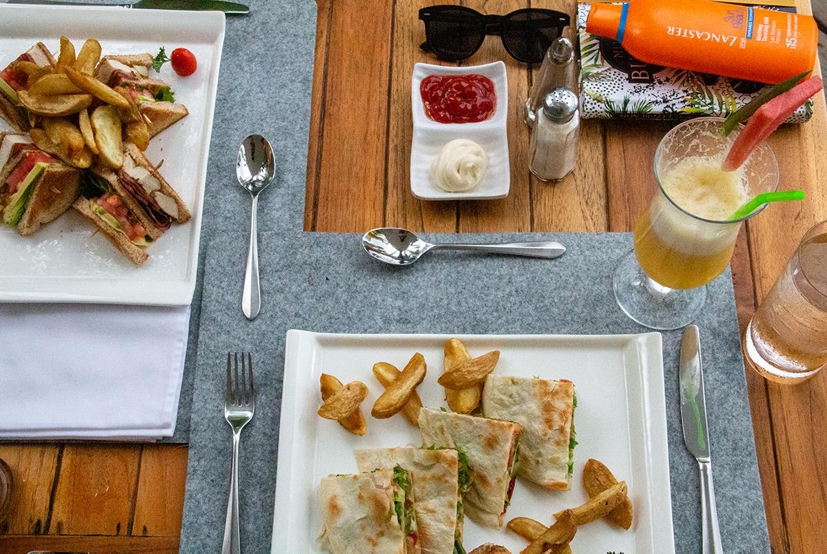 Lunch at Oxygen Jungle Villas in Uvita