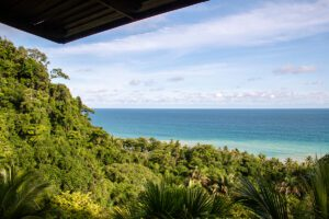 Ocean view from your room at Hotel Finca Exotica Costa Rica