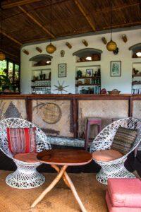 Restaurant at Finca Exotica Carate Costa Rica hotel