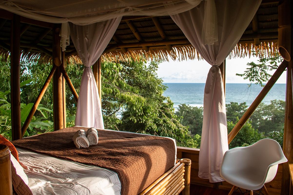 room view at Sola Vista Eco Lodge hotel Costa Rica