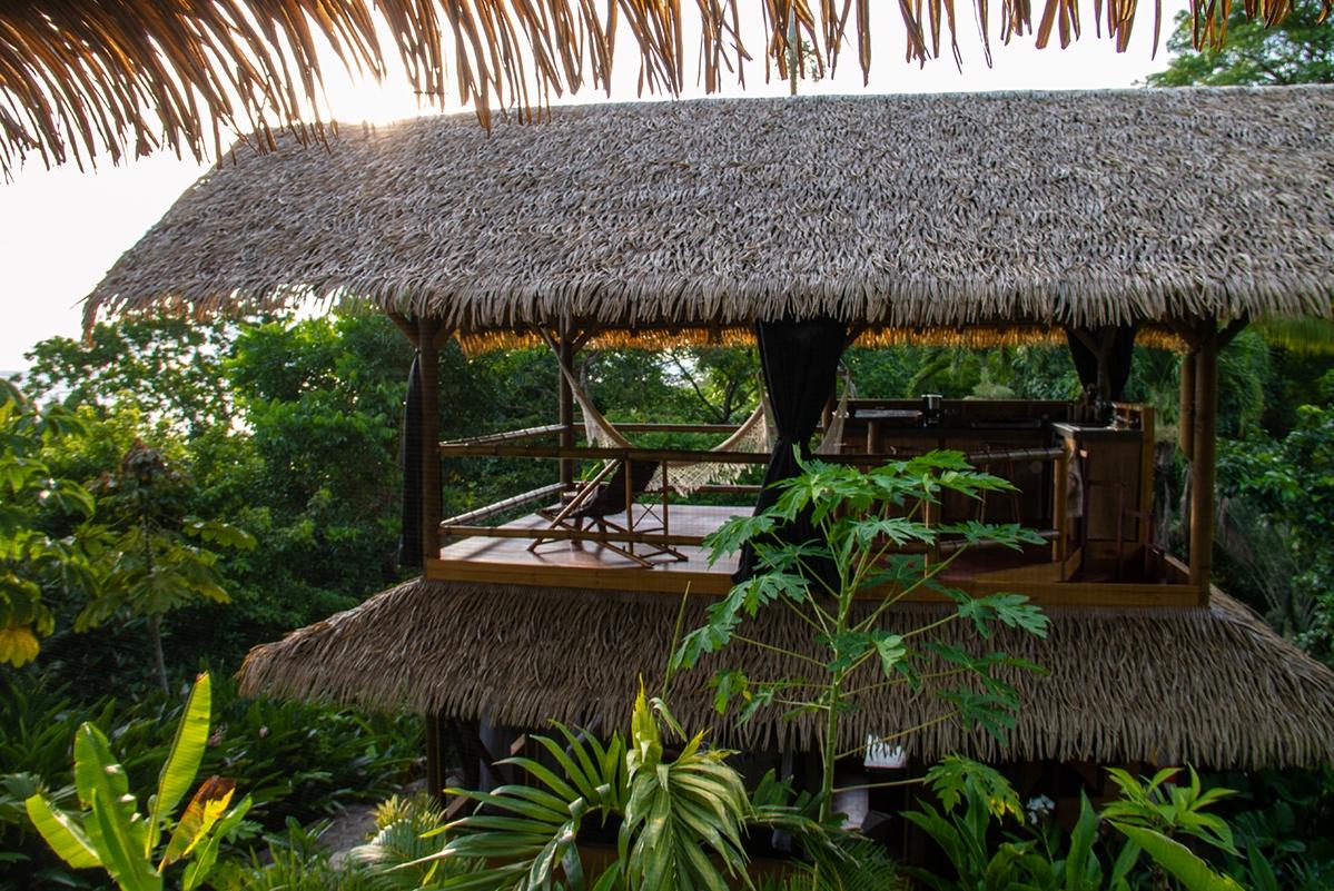 Sola Vista Eco Lodge house Punta Banco Costa Rica