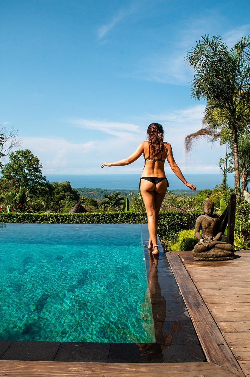 Swimming pool at Oxygen Jungle Villas Costa Rica