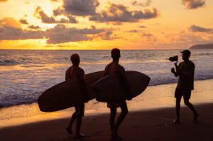 Video production of Huchu surfboards brand movie in Costa Rica