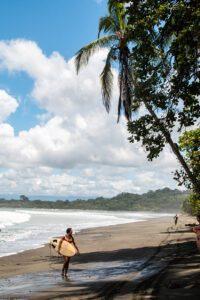 Surfing Saleas in Costa Rica