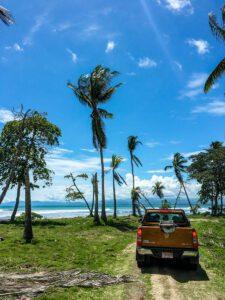 Surfing in Saleas Costa Rica