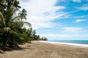 Beach in Cahuita National Park Costa Rica
