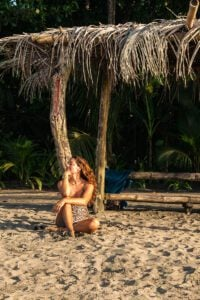 Congo Bongo beach at Playa Manzanillo Costa Rica