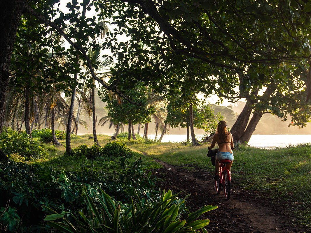Cycling around the Caribbean Coast of Costa Rica