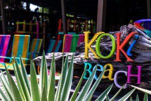 Koki Beach restaurant in Puerto Viejo Costa Rica