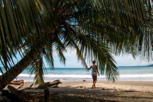 Beaches on the Caribbean coast of Costa Rica