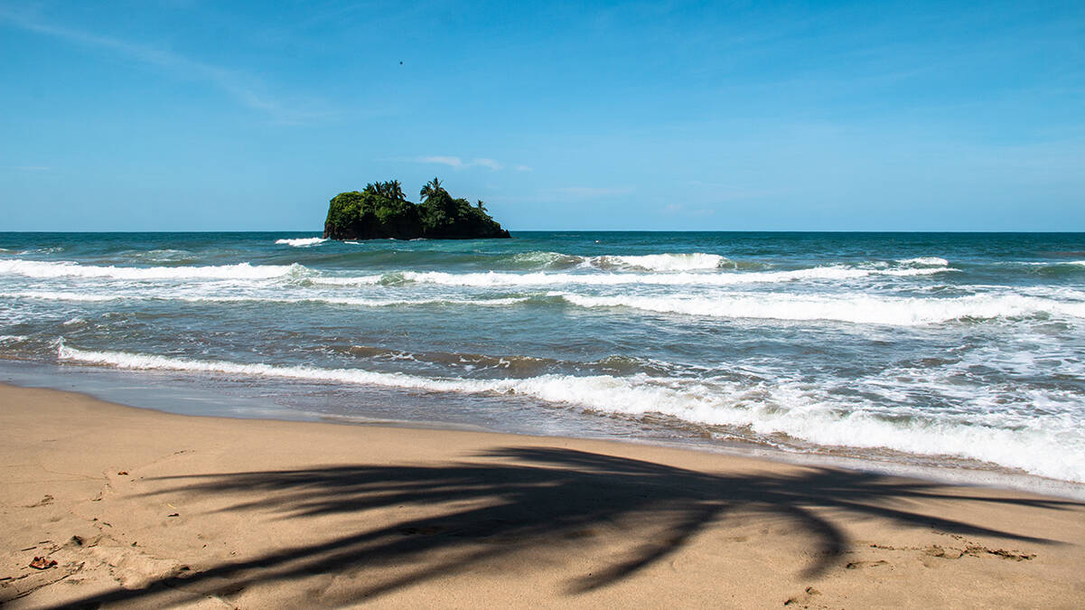 Playa Cocles in Costa Rica